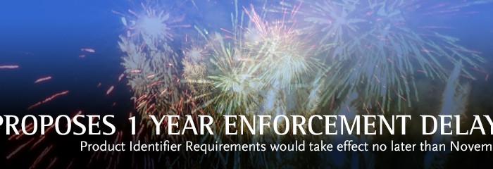 FDA Proposes 1 Year Enforcement Delay